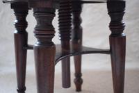 Victorian Mahogany Circular Revolving Piano Stool (5 of 9)