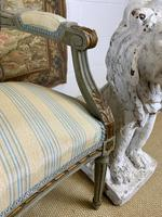 French Gilt Painted Two Seater Settee (5 of 8)