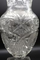 Large Early 20th Century Ovoid Cut Glass Vase (4 of 5)