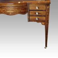 Edwardian Inlaid Rosewood Writing Table (11 of 12)
