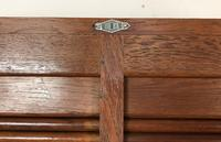 """Vintage Mid Century Double French Filing Cabinet Tambour Roller Shutter """"Radia"""" (7 of 12)"""