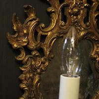 French Pair of Gilded Antique Girandoles (9 of 10)