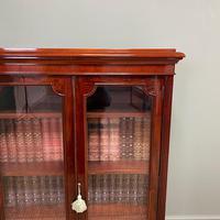 Stunning Quality Victorian Glazed Mahogany Bookcase (4 of 7)