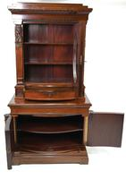 Antique Egyptian Revival Library Salon Cabinet (5 of 5)