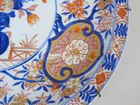 Good Antique Japanese Imari Meiji Charger (4 of 8)