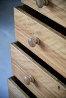 Victorian Satin Birch Chest of Drawers (6 of 12)