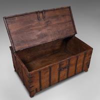 Antique Merchant's Chest, Oriental, Solid Teak, Trunk, William III c.1700 (8 of 12)