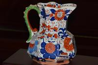 Large & Heavy 19th Century Masons Ironstone Hydra Jug or Pitcher (9 of 12)