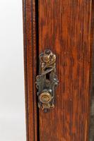 Small Edwardian Arts & Crafts Oak Cabinet (12 of 16)