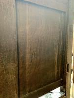 Late 18th Century Box Seated Oak Settle (16 of 19)