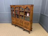 Shapland & Petter Burr Walnut Bookcase (18 of 23)