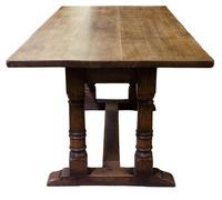17th Century Style Oak Refectory Table c.1920 (2 of 5)