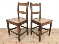 Pair of Country Bar Back Chairs (3 of 8)