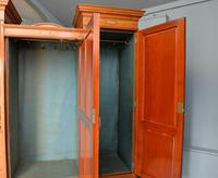 Stunning Victorian Satinwood & Marquetry Compactum Wardrobe (24 of 24)