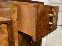 Stylish Art Deco Burr Walnut Dressing Table (12 of 20)