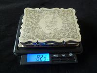 Solid Silver Aide Memoire Birmingham 1898 slight A/F (6 of 8)