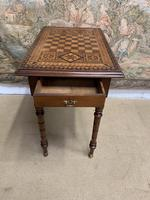 19th Century Games / Occasional Table with Inlaid Top (7 of 7)