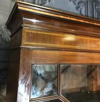 Georgian Mahogany Bureau Bookcase (5 of 17)