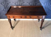 Victorian Mahogany Writing Table (3 of 13)