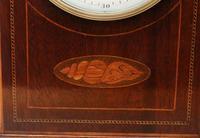 Mahogany Inlaid Mantel Clock (9 of 10)