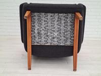 Danish Design by Folke Ohlsson, 1960s, Restored Relax Armchair (13 of 14)