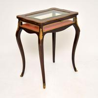 Antique French Inlaid Rosewood Bijouterie Display Table (12 of 15)