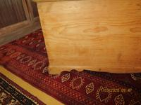 Victorian Pine Blanket Chest with Bracket Feet (3 of 5)