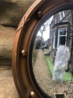 Antique Gilt Framed Convex Mirror (3 of 4)