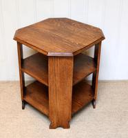 Low Oak Octagonal Table (3 of 7)
