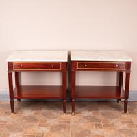 Pair of French Marble Topped Tables (9 of 14)