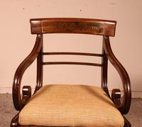 Regency Rosewood Chair Early 19th Century c.1811 (3 of 10)