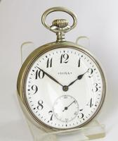 Antique Doxa Pocket Watch, for the German market (2 of 6)