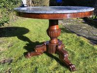 Flame Mahogany Gueridon Centre Table (7 of 7)