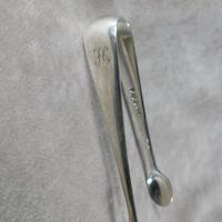 Pair of 1910 Silver Sugar Bows by Elkington & Co (2 of 4)