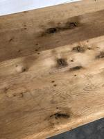 French Bleached Oak Farmhouse Dining Table (10 of 10)