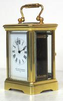 Antique Miniature 8 Day Carriage Clock by Walters & George Regent Street Rare (7 of 14)