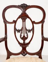 Elegant Mahogany Chippendale Style Carver Chair (7 of 7)