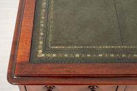 Victorian Mahogany Faux Partners Desk (5 of 9)