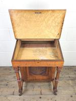 Antique Edwardian Davenport Desk (12 of 15)
