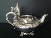Antique George IV Silver Teapot - 1835 Bateman (5 of 8)