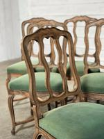 Set of 10 French Bleached Oak Farmhouse Dining Chairs (14 of 16)