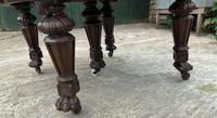 Impressive Victorian Mahogany Extending Dining Table - Seats 12 (15 of 23)