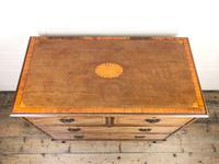 Edwardian Crossbanded Mahogany Chest of Drawers (4 of 9)