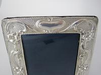 Stylish Chester Silver Art Nouveau Style Photo Frame (2 of 7)