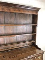 Antique 19th Century Oak Kitchen Dresser (6 of 9)