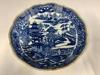 Antique Caughley Porcelain Deep Saucer c.1795 (4 of 6)