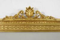 Victorian Gilt Overmantle Mirror (4 of 9)