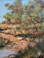 Francois Badenhorst S.A - South African Bush Landscape Oil Painting (6 of 12)