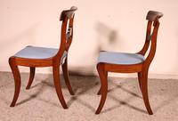 Two Regency Mahogany Chairs Circa 1800 (7 of 8)