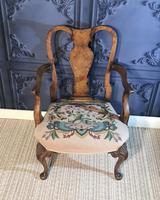 Quality Burr Walnut Child's Chair (8 of 13)